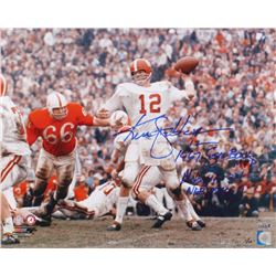 """Ken Stabler Signed LE Alabama Crimson Tide 16x20 Photo Inscribed """"1967 Sugar Bowl MVP""""  """"Alabama 34"""