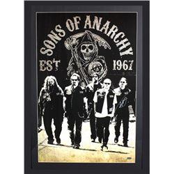 "Tommy Flanagan Signed ""Sons of Anarchy"" 29x42 Custom Framed Poster Display (Radtke COA)"
