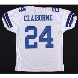 "Morris Claiborne Signed Cowboys Jersey Inscribed ""2012 1st Round Pick"" (Radtke COA)"