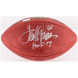 Terrell Davis Signed  The Duke  Official NFL Game Ball Inscribed  HOF 17  (Radtke COA)