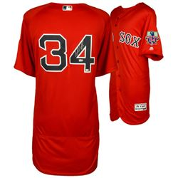 David Ortiz Signed Red Sox Jersey With Final Season Patch (Fanatics Hologram  MLB Hologram)