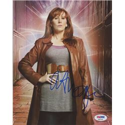 "Catherine Tate Signed ""Doctor Who"" 8x10 Photo (PSA COA)"