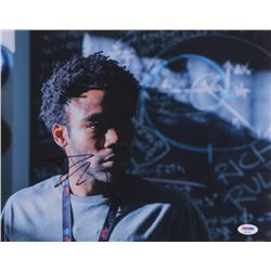 "Donald Glover Signed ""The Martian"" 11x14 Photo (PSA COA)"