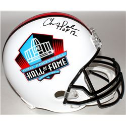 "Chris Doleman Signed Hall of Fame Commemorative Full-Size Helmet Inscribed ""HOF 12"" (Radtke COA)"