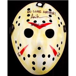 "Ari Lehman Signed Jason ""Friday the 13th"" Hockey Mask Inscribed ""Jason 1""  ""No Lives Matter!"" (PA CO"
