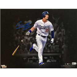 "Cody Bellinger Signed Dodgers ""Spotlight"" 11x14 Photo (Fanatics Hologram  MLB Hologram)"