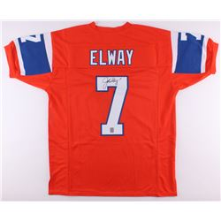 John Elway Signed Broncos Throwback Jersey (Elway Hologram)
