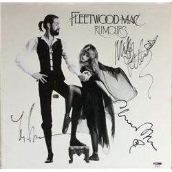 "Mick Fleetwood, Lindsey Buckingham  Christine McVie Signed Fleetwood Mac ""Rumours"" Vinyl Record Albu"