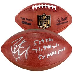 "Peyton Manning Signed ""The Duke"" Official NFL Game Ball Inscribed ""539 TDS"", ""71,940 Yards""  ""5X NFL"