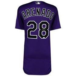 Nolan Arenado Signed Rockies Jersey (MLB  Fanatics)