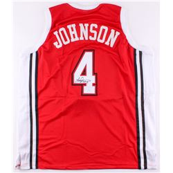 Larry Johnson Signed UNLV Runnin' Rebels Jersey (JSA COA)