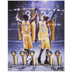 "Kobe Bryant Signed Lakers ""Legendary"" 24x30 LE Photo (Panini COA)"