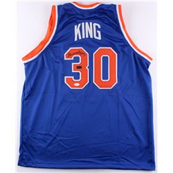 Bernard King Signed Knicks Jersey (JSA COA  Radtke COA)