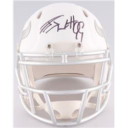 J.J. Watt Signed Texans Custom Matte White ICE Speed Mini Helmet (JSA COA)
