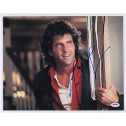 Mel Gibson Signed 11x14 Photo (PSA COA)