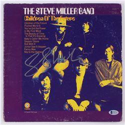 """Steve Miller Signed """"The Steve Miller Band: Children of the Future"""" Vinyl Record Album Cover (Becket"""