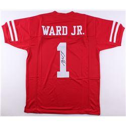 Greg Ward Signed Houston Cougars Jersey (JSA COA)