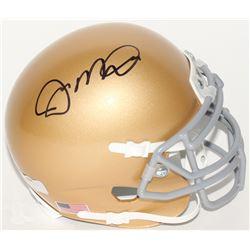 Joe Montana Signed Notre Dame Fighting Irish Mini-Helmet (Radtke Hologram)