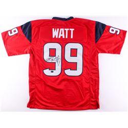 J. J. Watt Signed Texans Jersey (JSA COA  Watt Hologram)