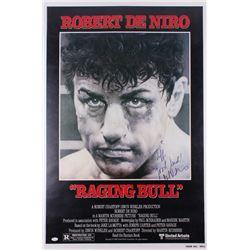 "Robert De Niro Signed ""Raging Bull"" 26.5x40 Movie Poster Inscribed ""Good Luck!"" (JSA LOA)"