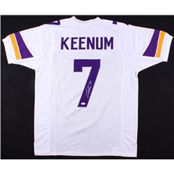 Case Keenum Signed Vikings Jersey (JSA COA)