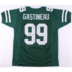 Mark Gastineau Signed Jets Jersey (JSA COA)