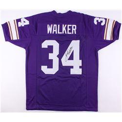 Herschel Walker Signed Vikings Jersey (JSA COA)