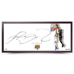 "LeBron James Signed Cavaliers ""The Show"" 20x46 Custom Framed Photo (UDA COA)"