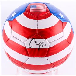 Carli Lloyd Signed Soccer Ball (JSA COA)