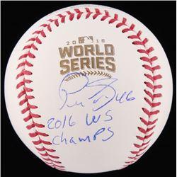 "Pedro Strop Signed 2016 World Series Baseball Inscribed ""2016 WS Champs"" (Schwartz Sports COA)"
