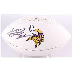 Laquon Treadwell Signed Vikings Logo Football (Radtke COA)