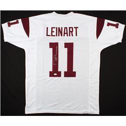 """Matt Leinart Signed USC Trojans Jersey Inscribed """"04 Heisman"""" (JSA COA)"""