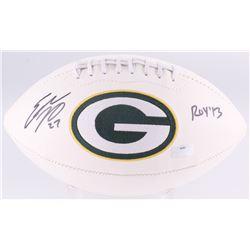 "Eddie Lacy Signed Packers Logo Football Inscribed ""ROY '13"" (Radtke Hologram)"