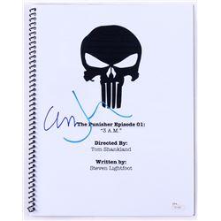 """Jon Bernthal  Ebon Moss-Bachrach Signed """"The Punisher Episode 01: 3 AM"""" Full Episode Script (JSA COA"""