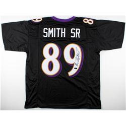 Steve Smith Sr. Signed Ravens Jersey (Radtke COA)