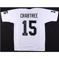 Michael Crabtree Signed Raiders Jersey (JSA COA)
