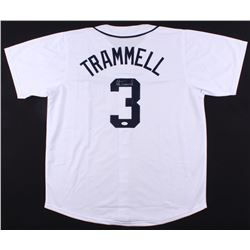 Alan Trammell Signed Tigers Jersey (JSA COA)