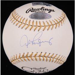 Alex Rodriguez Signed Gold Glove Award Baseball (Steiner Hologram  MLB Hologram)