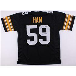 """Jack Ham Signed Steelers Jersey Inscribed """"HOF 88"""" (Schwartz COA)"""