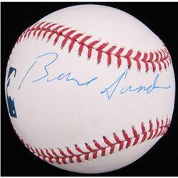 Bernie Sanders Signed OML Baseball (JSA COA)
