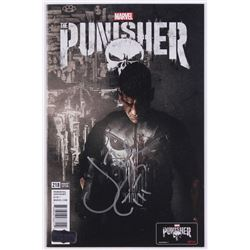 "Jon Bernthal Signed ""The Punisher"" Netflix Comic Book (Radtke COA)"