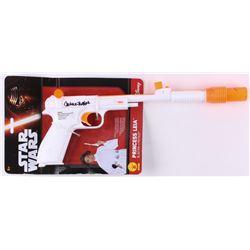 "Carrie Fisher Signed ""Star Wars"" Princess Leia Replica Prop Blaster (Radtke COA)"