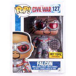 "Stan Lee Signed ""Falcon"" Marvel Funko Pop Figure (Lee Hologram)"