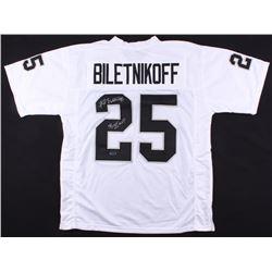 "Fred Biletnikoff Signed Raiders Jersey Inscribed ""SB XI MVP"" (Radtke COA)"