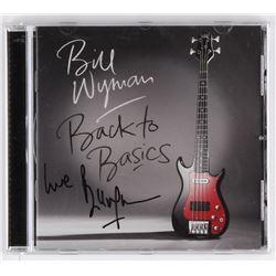 "Bill Wyman Signed ""Back To Basics"" CD Album Inscribed ""Love"" (JSA COA)"