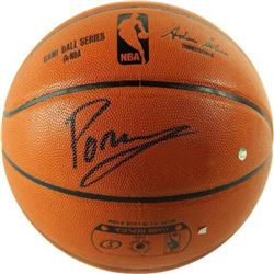 Kristaps Porzingis Signed NBA Game Ball Series Basketball (Steiner Hologram)