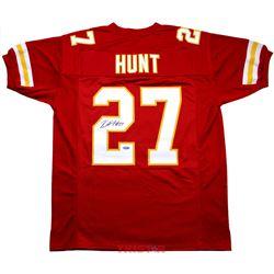 Kareem Hunt Signed Chiefs Jersey (TriStar Hologram)