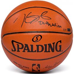 "Kevin Durant Signed Spalding Game Ball Series Basketball Inscribed ""Dub Nation"" (Panini COA)"