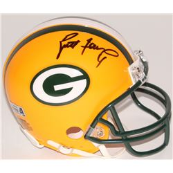 Brett Favre Signed Packers Mini-Helmet (Favre Hologram)