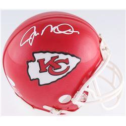 Joe Montana Signed Chiefs Mini Helmet (JSA COA)